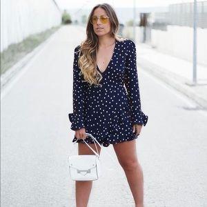 Bloggers favorite Zara polka dot romper